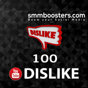 Buy 100 Youtube Dislike