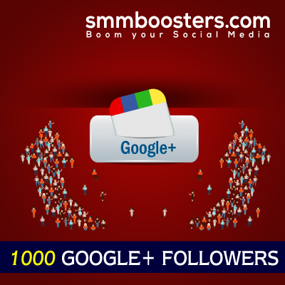 Buy 1000 Google+ Followers