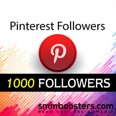 Buy 1000 Pinterest Followers