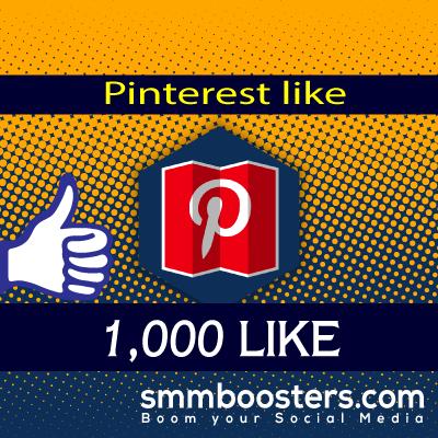 Buy 1000 Pinterest Likes
