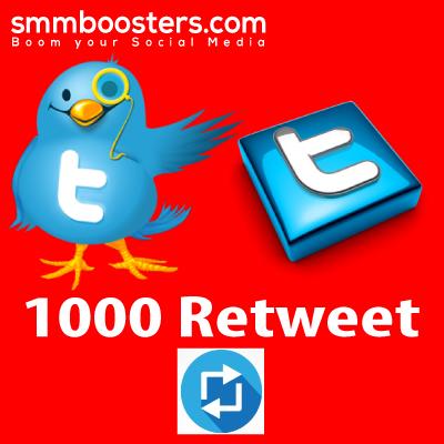 Buy 1000 Twitter Retweet
