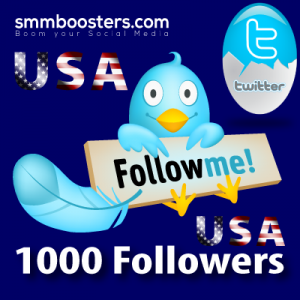Buy 1000 USA Twitter Followers