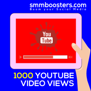 Buy 1000 YouTube Video Views