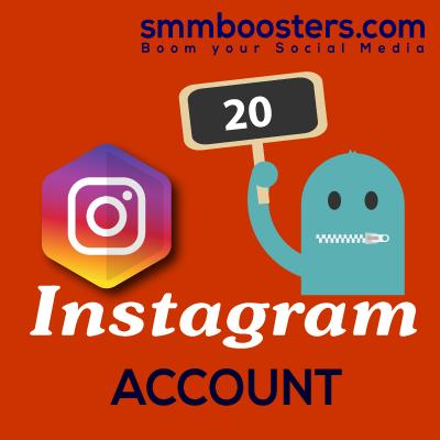 Buy 20 Instagram Account