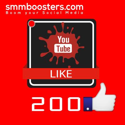 Buy 200 YouTube Likes