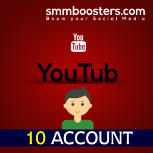 Buy 10 Youtube Account