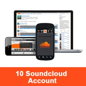 10 soundcloud Account