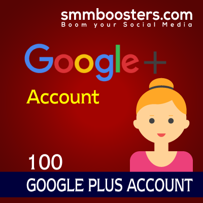 Buy 100 Google+ Account