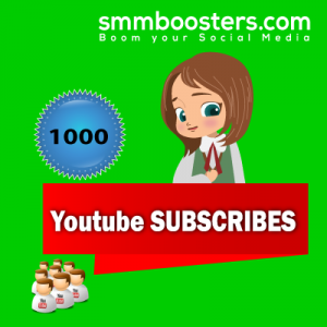 Buy 1000 YouTube Subscriber