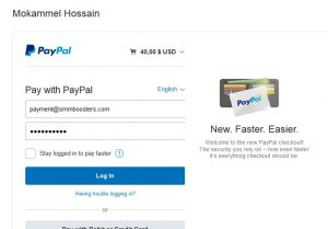 SMM Boosters: Payment Gateway