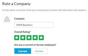 Glassdoor Company Reviews